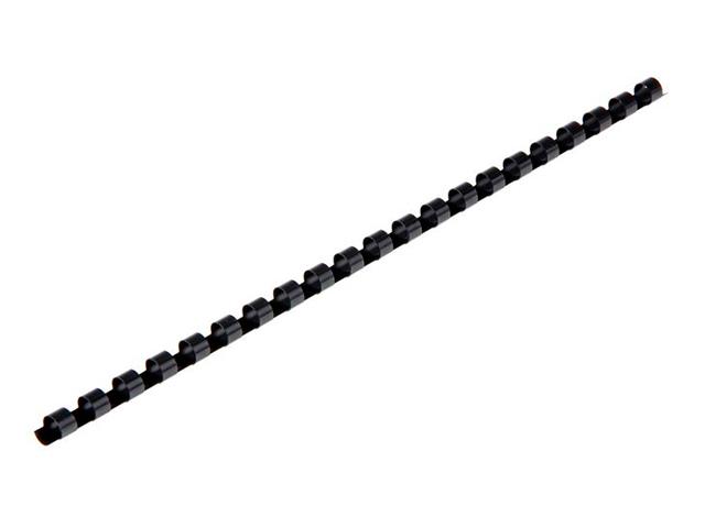 Пружина для переплета d= 8 мм пластиковая, черная