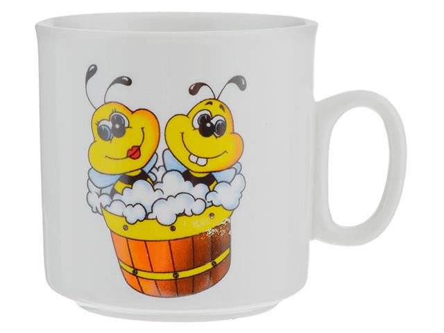 "Кружка ДФЗ ""Пчелы"" 200см3, фарфор"