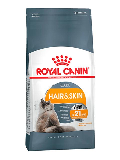 Корм РК Хэйр энд Скин кэа 2 кг (для кошек здоровье кожи и блеск шерсти)