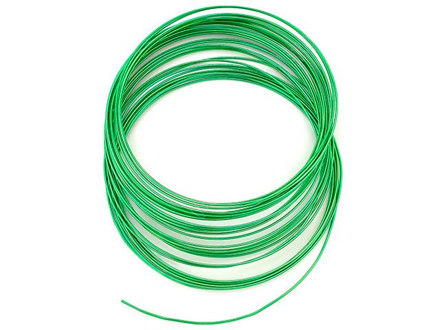Проволока 1мм х 10м, зеленая
