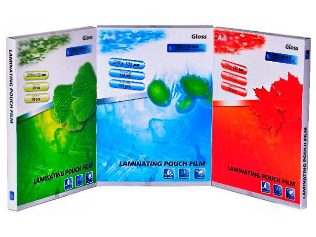 Пленка для ламинирования А5 LF Gloss 150 мкм, 154*216 мм, 100 листов
