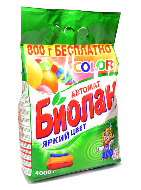БИОЛАН СМС Порошок-автомат Color 4 кг