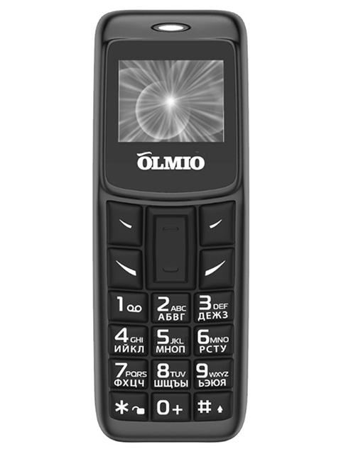 Мобильный мини-телефон OLMIO A02 (черный)