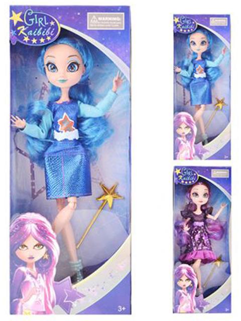 "Кукла ""Kaibibi"" 29см, с аксессуарами, в картонной коробке"