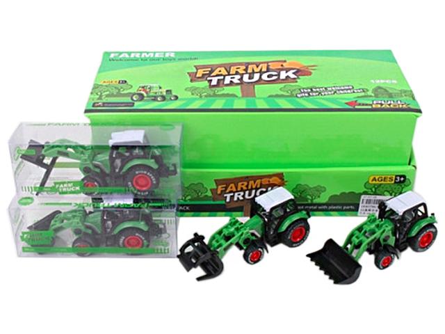 """Игрушка """"Автомир. Трактор с подвижным ковшом"""""""