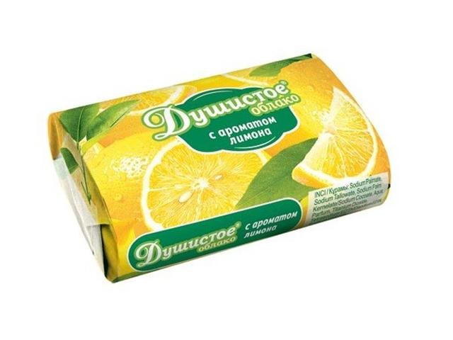 Мыло туалетное Душистое Лимон, 90г