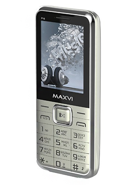 Мобильный телефон Maxvi Р16 Silver