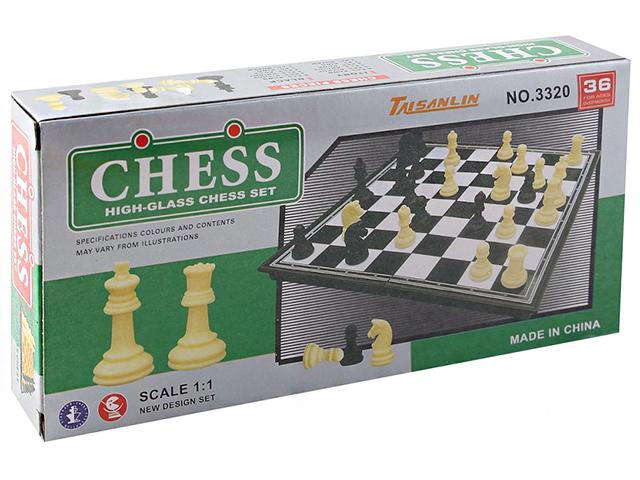"""Игра настольная """"Шахматы"""" магнитные, пластиковые, 18х18см"""