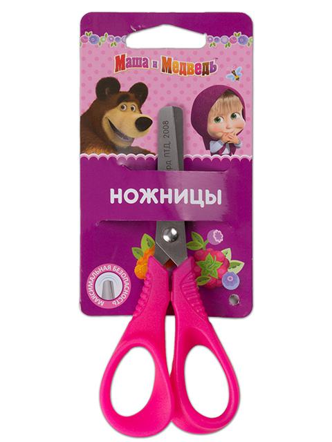 """Ножницы с пружиной """"Маша и Медведь"""", 13 см."""
