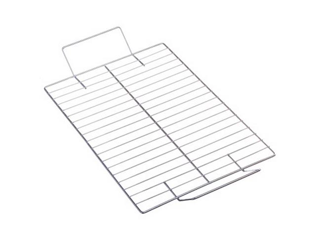 """Решетка-гриль """"Grillboom"""" на мангал, никелированная, 41х24см, углеродистая сталь"""
