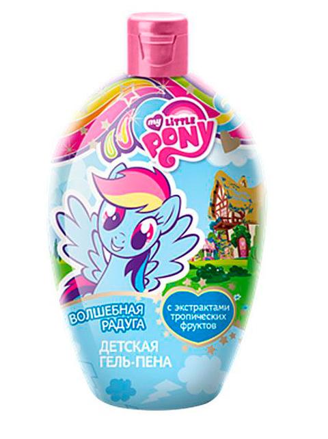 "Гель-пена для душа детская My little pony ""Волшебная радуга"", 300мл"