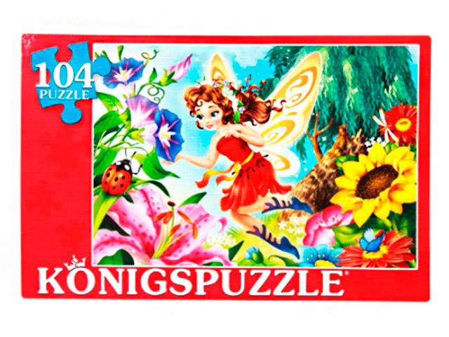 """Пазлы 104 элемента 340х240 Konigspuzzle """"Фея в цветах"""""""