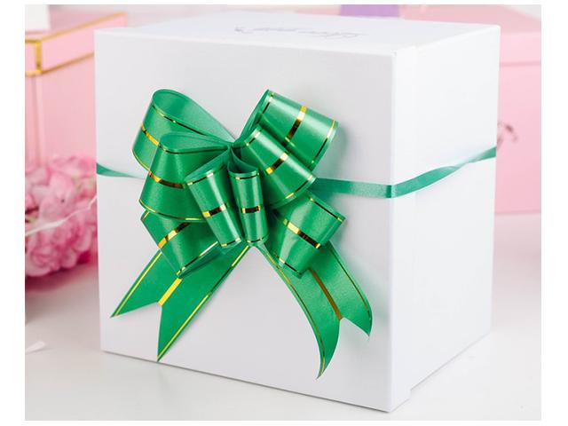 """Бант оформительский """"Бабочка №4,5"""" зеленый 10шт. в упак."""