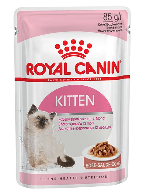 Корм РК Киттен 0,085 кг Соус (для котят до 12 мес.)