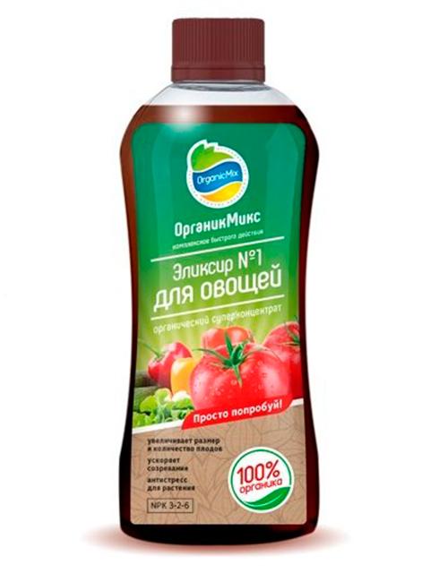 ОрганикМикс Эликсир №1 для овощей 250 мл