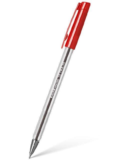 """Ручка шариковая Erich Krause """"Ultra L-10"""" 0,7 мм, красная"""