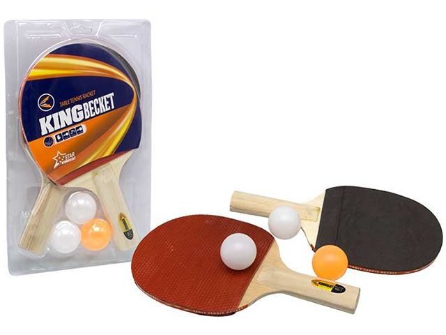 Набор для настольного тенниса (2 ракетки 24см, шарики)