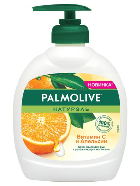 """Мыло жидкое Palmolive """"Витамин С и Апельсин"""", 300 мл"""