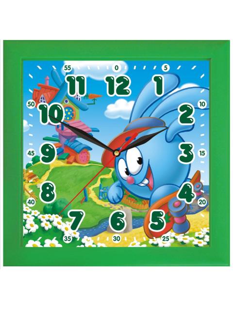 """Часы настенные пластиковые 3-3-98 """"Смешарики"""""""
