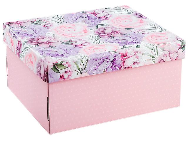 """Коробка подарочная складная """"Цветочная сказка"""" 31,2х25,6х16,1см"""