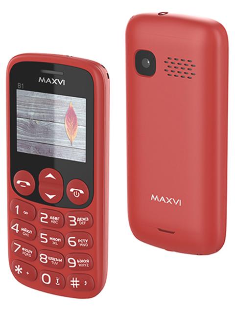 Мобильный телефон Maxvi В1 Red
