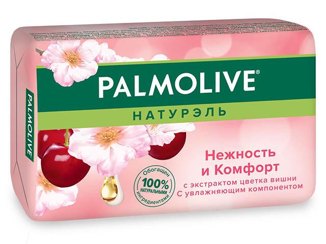 """Мыло туалетное Palmolive """"Нежность и комфорт"""" Цветок вишни 90г"""