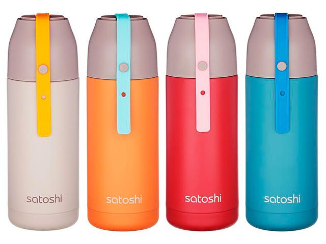 "Термокружка Satoshi ""Колор"", 350мл., 4 цвета"