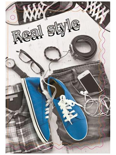 "Открытка-мини ""Real style"""