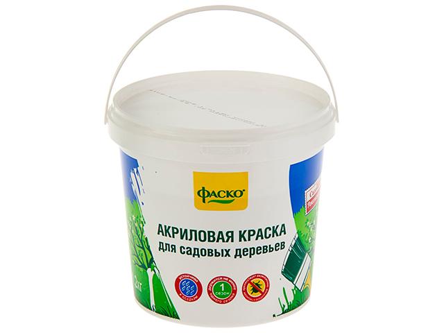 Краска для садовых деревьев ФАСКО 1,2 кг. (ведро)