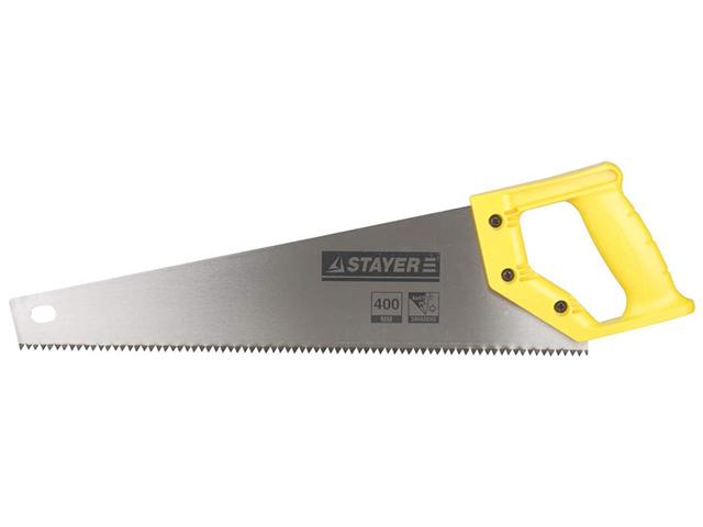 """Ножовка по дереву 400 мм, 5TPI """"STAYER. TOP CUT"""""""