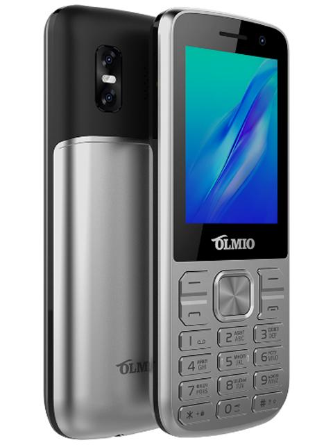 Мобильный телефон OLMIO М22 (серебро)