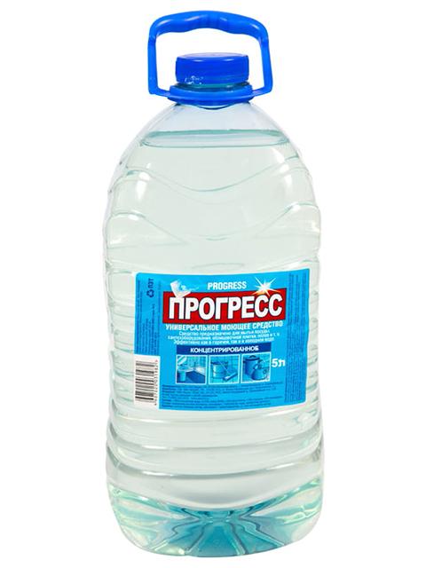 Средство моющее универсальное Прогресс, 5 литров, ПЭТ