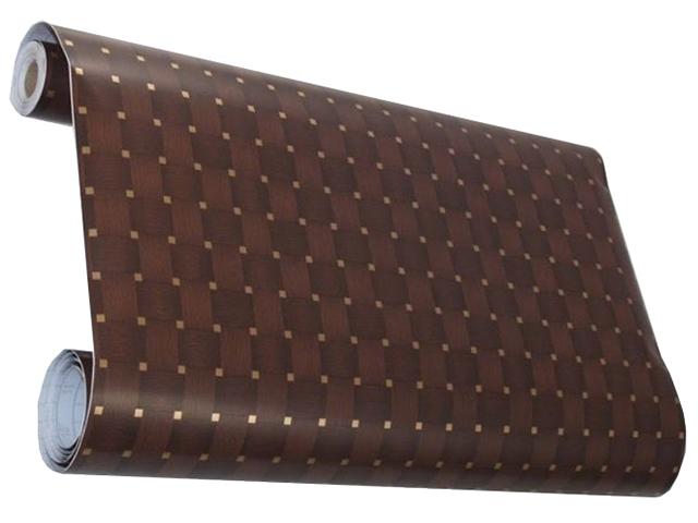 Пленка самоклеящаяся D&B 90см (плетенка крупная) цена за метр (рулон 8м.)
