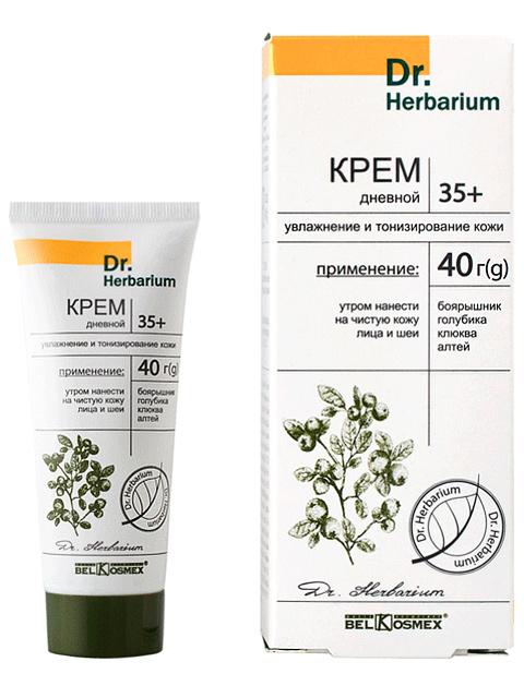 """Крем для лица """"Dr.Herbarium. Дневной 35+"""" увлажнение и тонизирование кожи, 40г"""