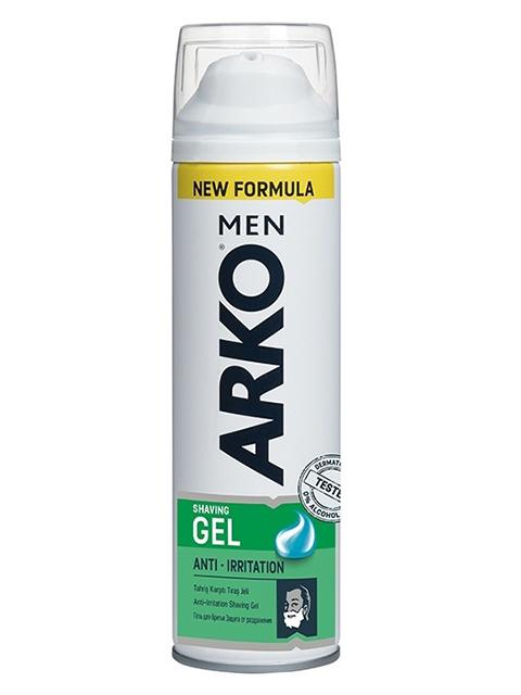 Гель для бритья ARKO Anti-Irritation, 200мл