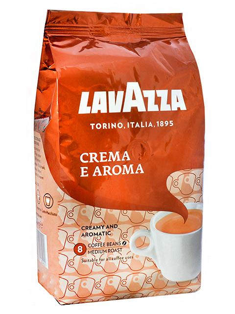"""Кофе в зернах LAVAZZA """"Crema e aroma"""" 1кг, вакуумная упаковка"""
