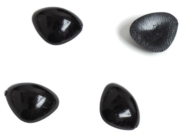 """Декор """"Носики для игрушек"""" 15 мм, черный (цена за 1 шт)"""