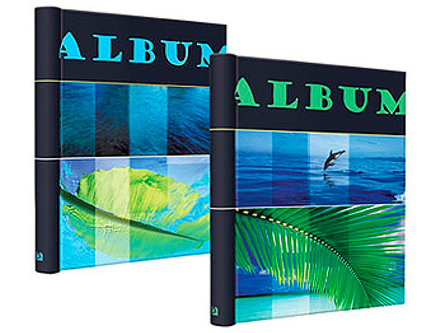 """Фотоальбом магнитный 10 листов Image Art """"Море (206)"""" 23х28 см, на спирали"""