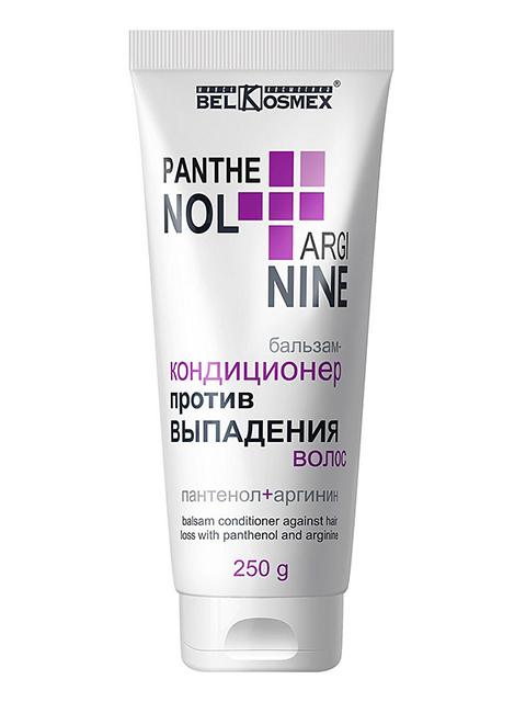 """Бальзам-кондиционер BelKosmex """"PANTENOL+ARGININE"""" против выпадения волос 220 мл"""