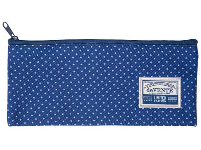 """Пенал-косметичка deVENTE """"Blue Dots"""" 21x9x1 см, текстильный"""