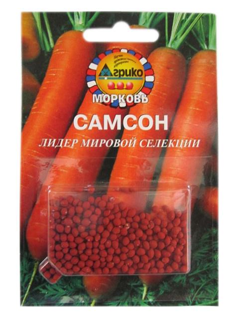 Морковь драже Самсон,  100 штук