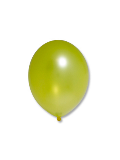"Шар 12"" Металлик Экстра Citrus Yellow 50 штук"