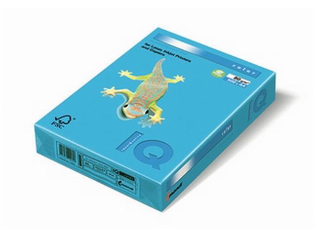 "Бумага IQ Color intensive А4 160 г/кв. м 250 листов ""Светло-синий"""