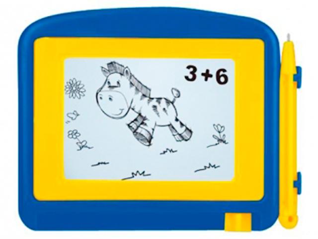 """Доска для рисования магнитная """"Первые рисунки"""" 10х12,5 см"""