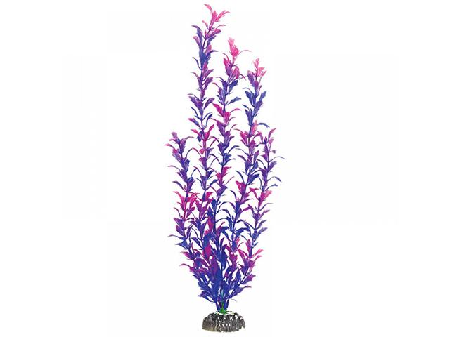 """Растение пластик для аквариума """"Лисимахия сине-фиолетовая"""" 25см"""