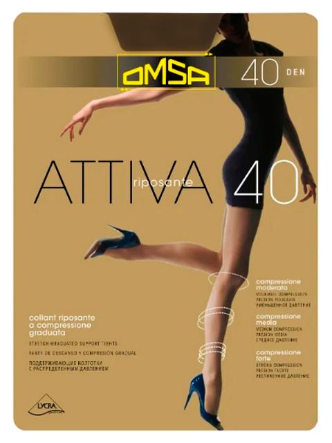 """Колготки женские Omsa """"Attiva 40"""" Lola XL"""