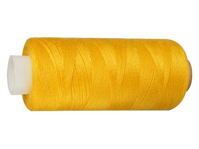 Нитки швейные Bestex, №40, 365м (208 желтый)