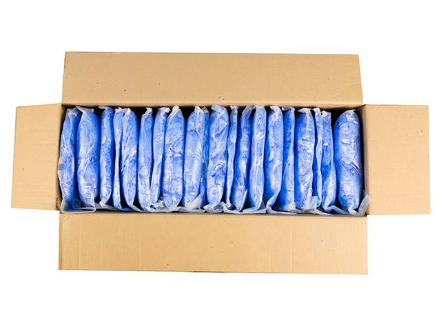 Бахилы медицинские одноразовые полиэтиленовые 50 пар (цена за упаковку)