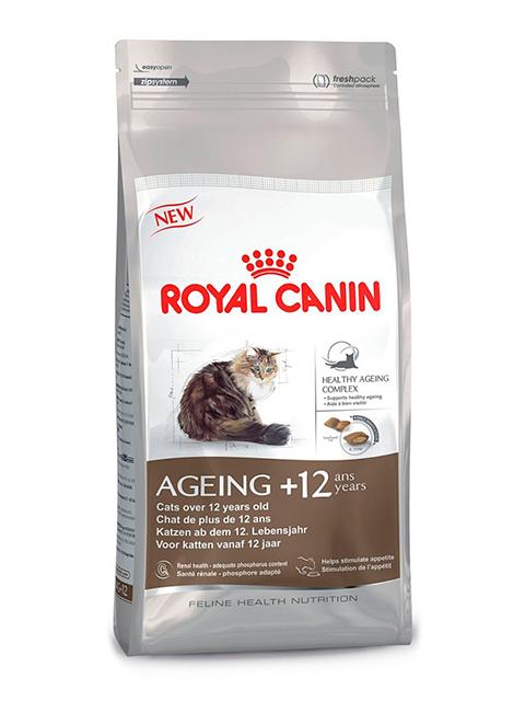 Корм РК Эйджинг Стерилайзд 12+ 0,4кг (для стерилизованных кошек в возрасте старше 12 лет)