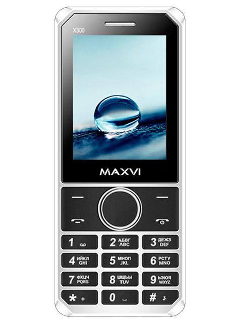 Мобильный телефон Maxvi X300 Black